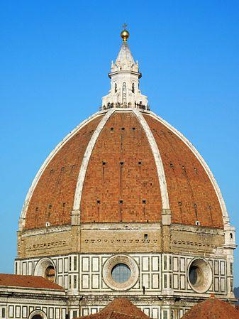 La cupola del Brunelleschi: uno dei più grandi capolavori dell'innovazione nell'Umanesimo